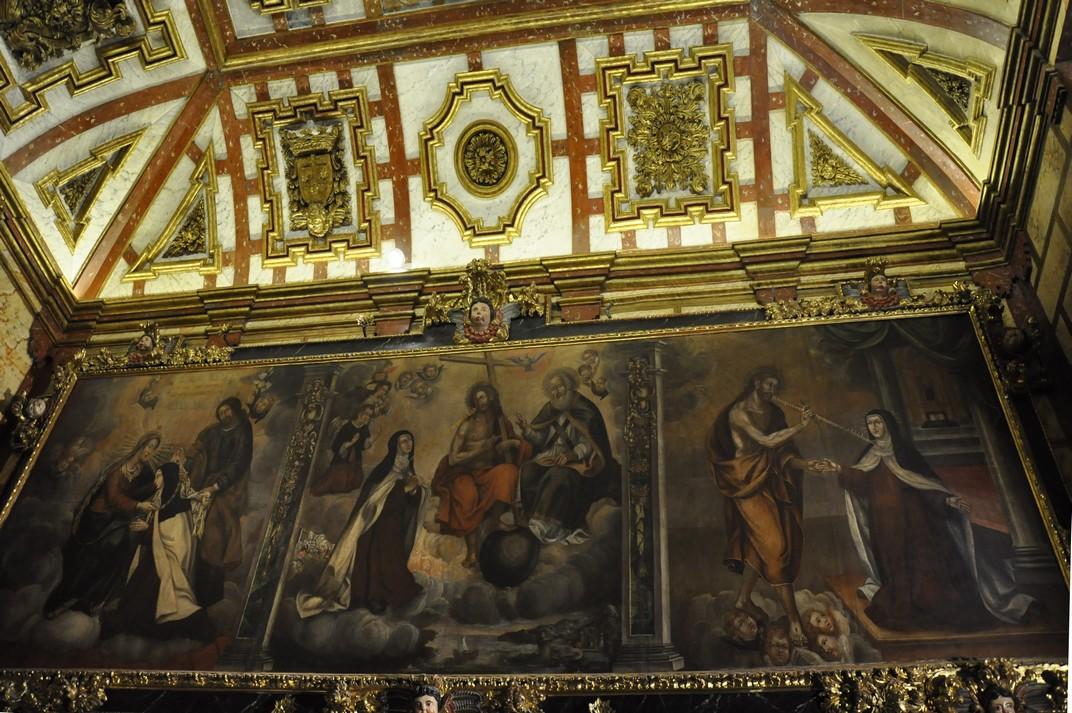 Quadres de la Capella de Santa Teresa del Convent de Santa Teresa d'Àvila