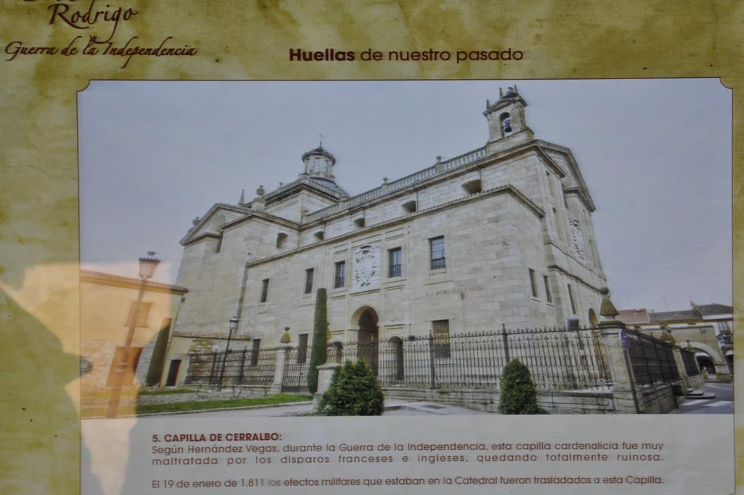 Rastres de la Guerra de la Independència de Ciudad Rodrigo de Salamanca
