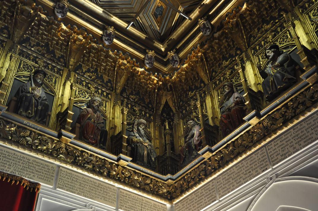 Reis a la Sala dels Reis de l'Alcàsser de Segòvia