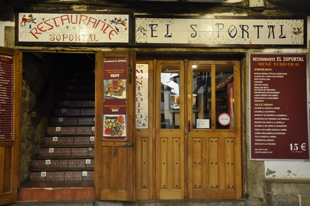 Restaurant de La Alberca de Salamanca
