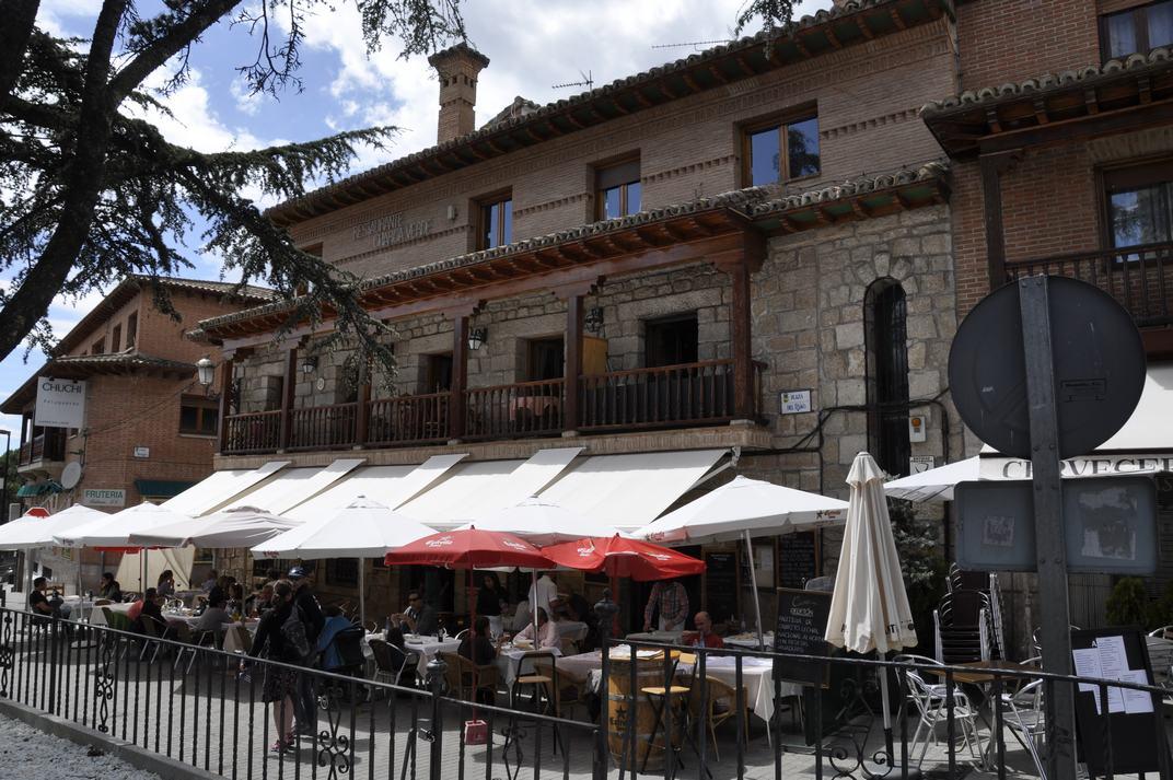 Restaurant de Manzanares El Real de Madrid
