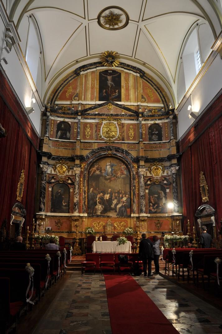 Retaule de la Reial Capella de Sant Jeroni de la Universitat de Salamanca