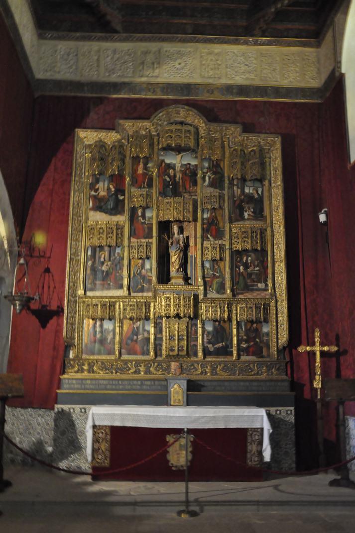 Retaule Major de la Capella de l'Alcàsser de Segòvia