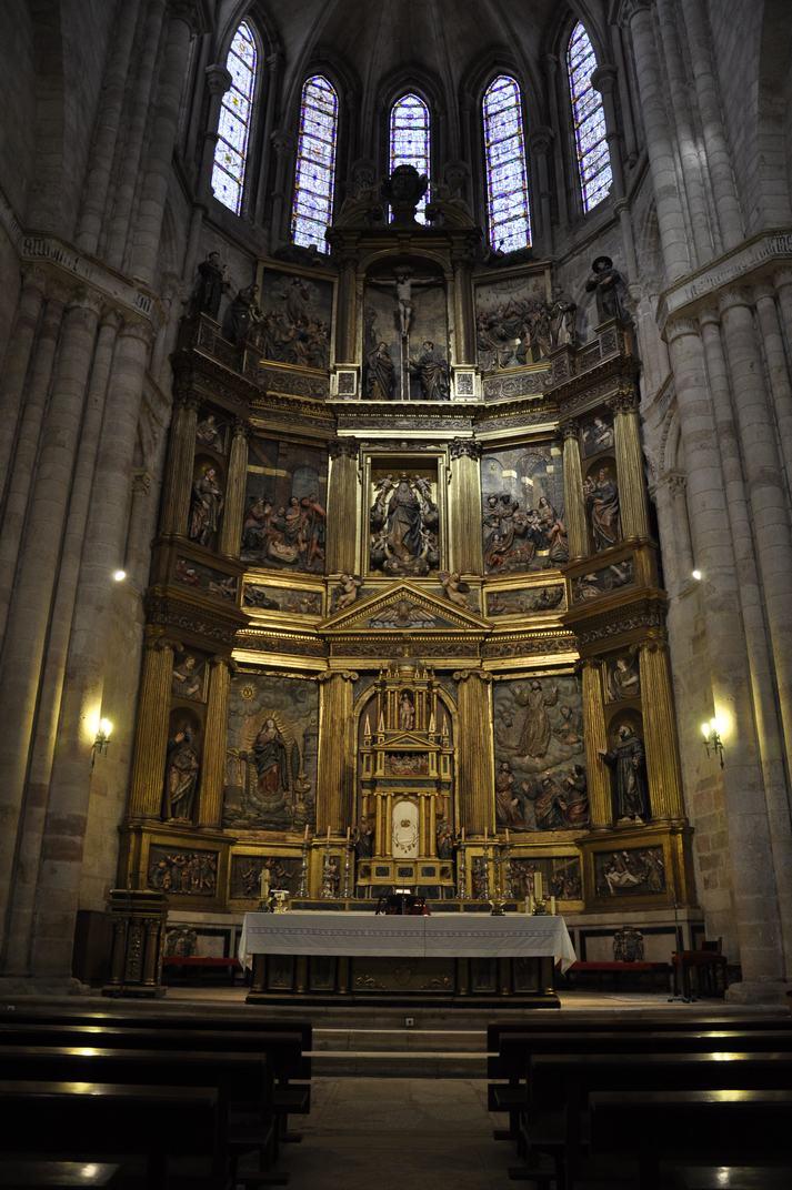 Retaule Major de la Catedral de Sigüenza de Castella - La Manxa