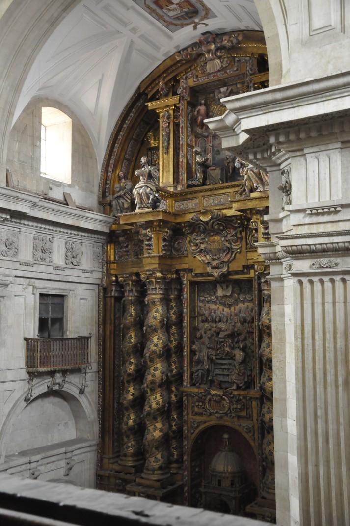 Retaule Major de l'Església de la Clerecia de Salamanca