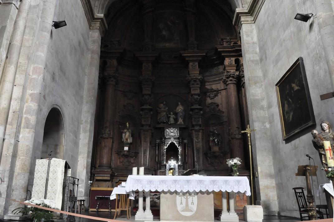 Retaule Major de l'església de Sant Martí de Tours de la Ciutat de Salamanca