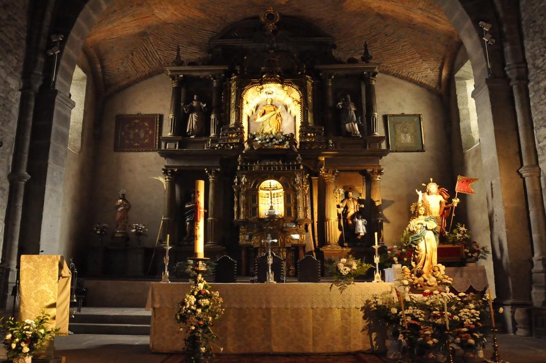 Retaule Major de l'església parroquial de La Alberca de Salamanca