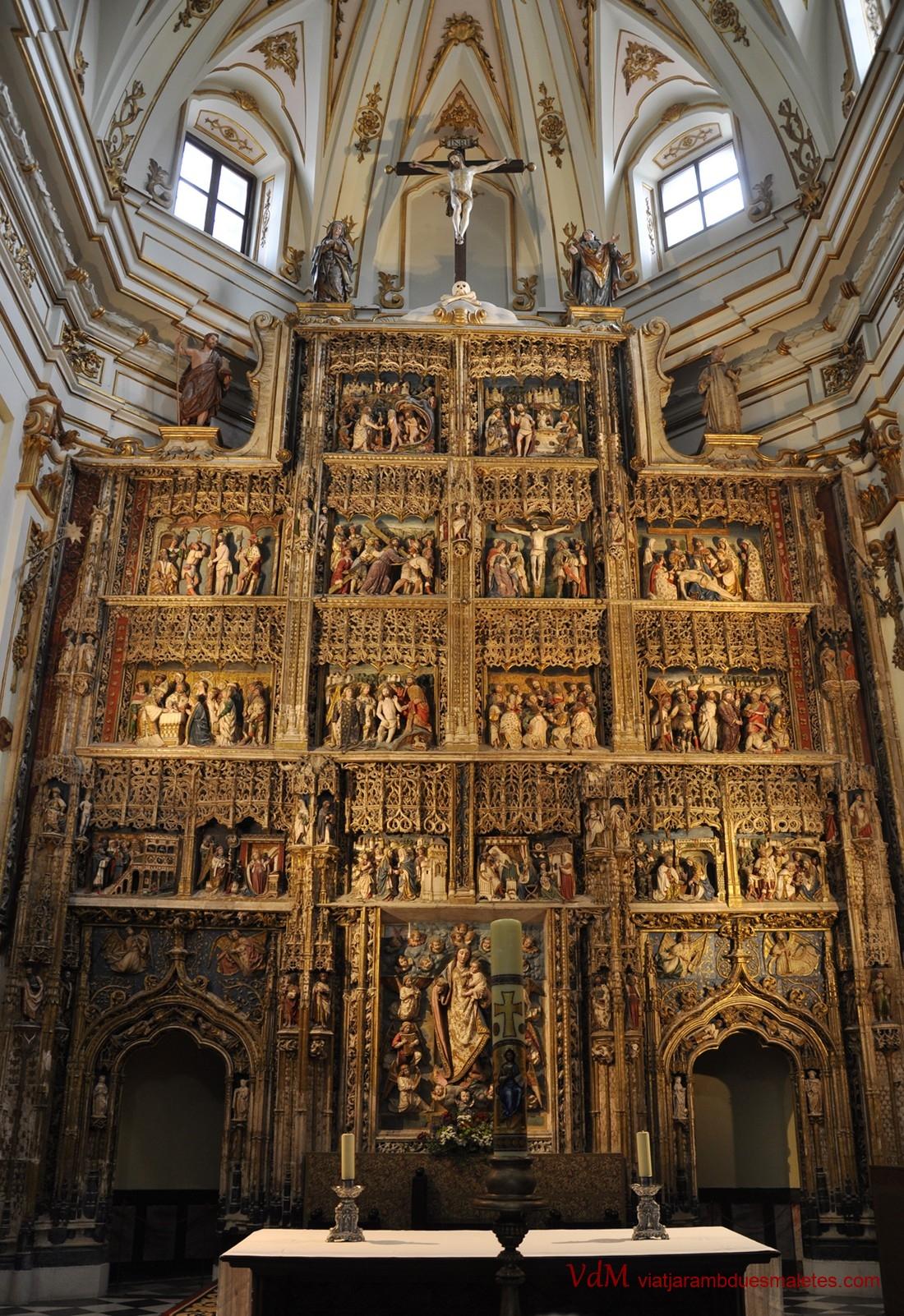 Retaule Major del Monestir de Santa Maria d'El Paular de Madrid