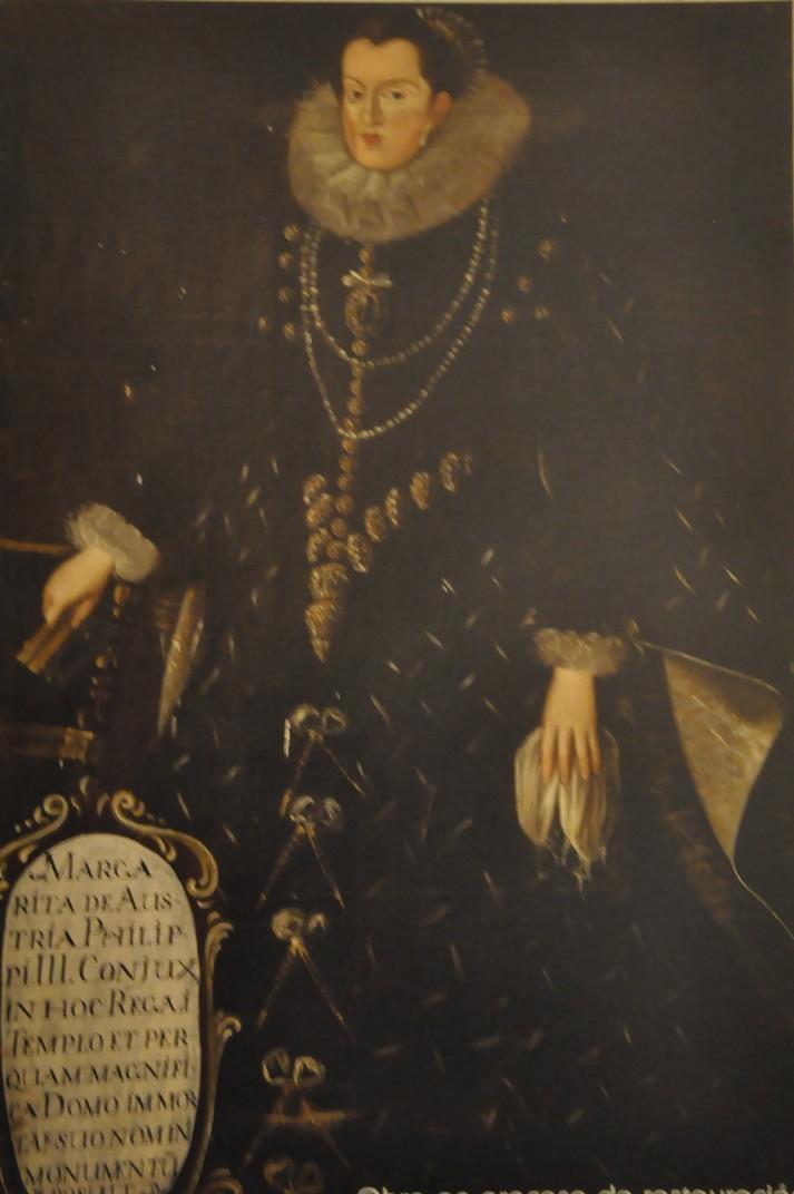 Retrat de Margarida d'Àustria de la Clerecia de Salamanca