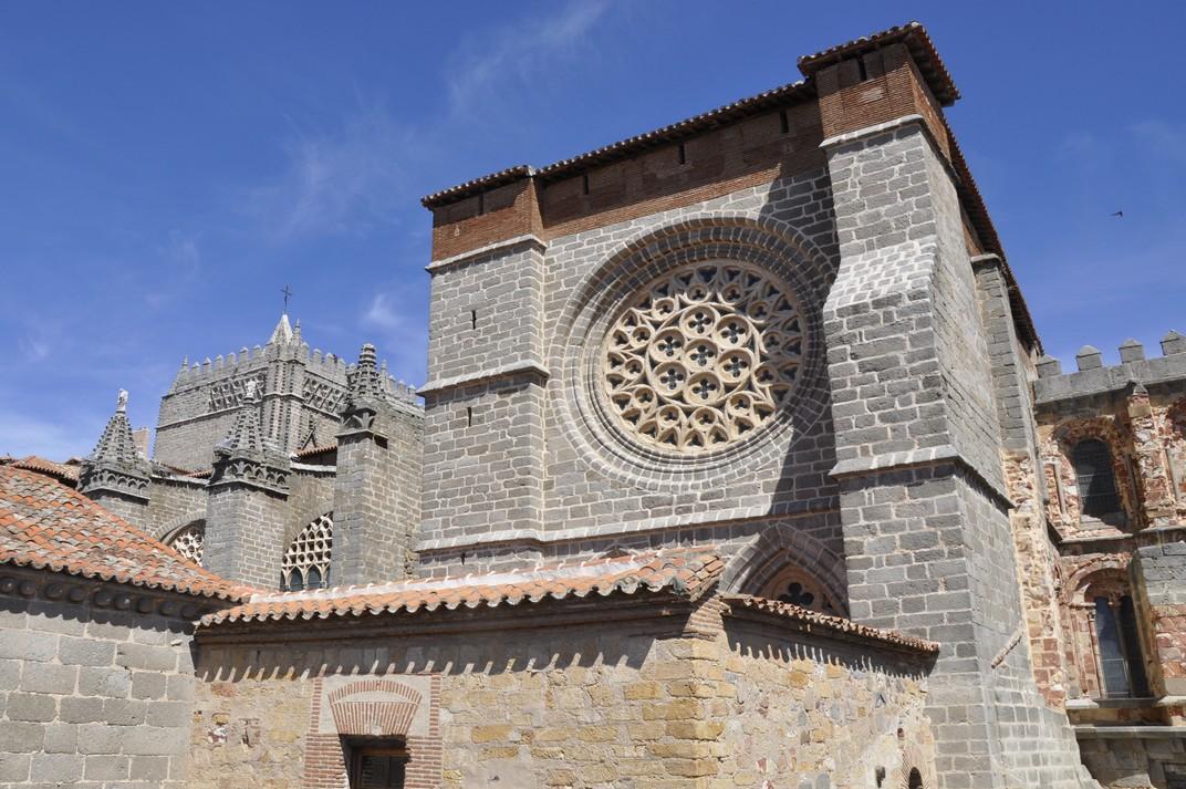 Rosassa del creuer de la Catedral d'Àvila