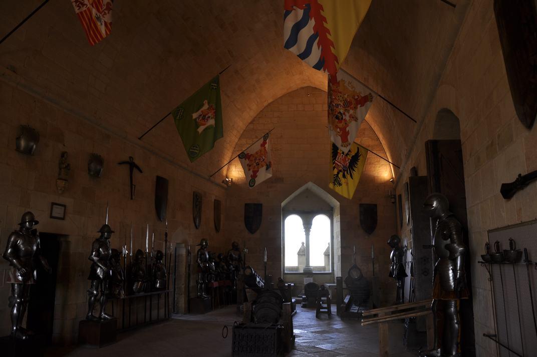 Sala d'armes de l'Alcàsser de Segòvia