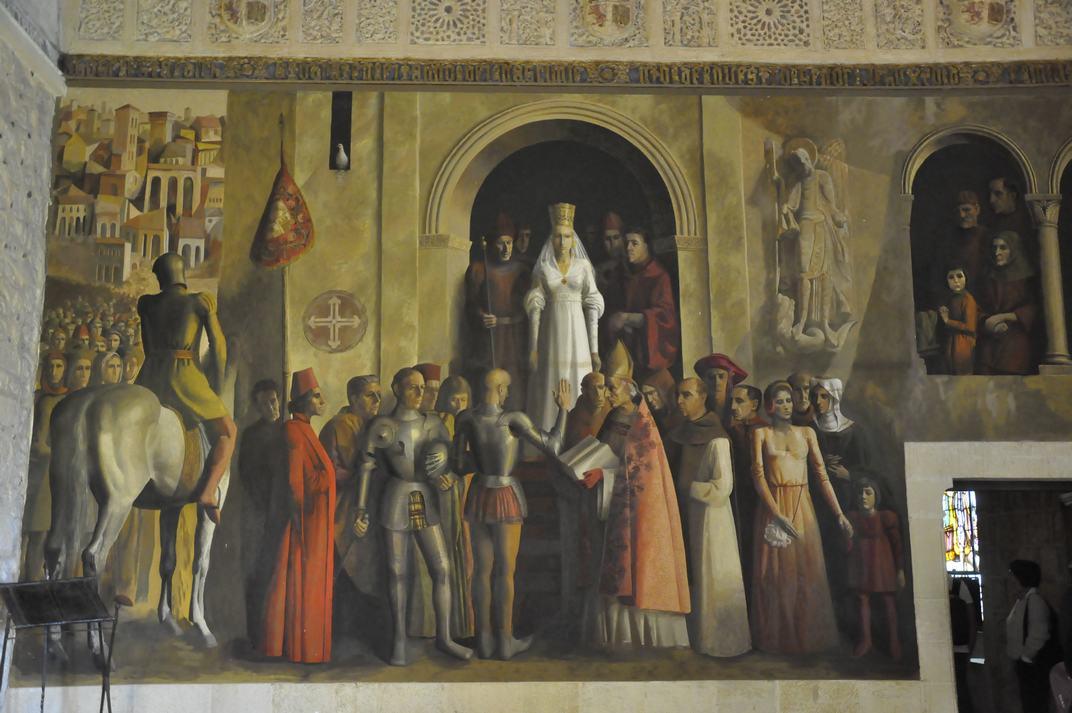 Sala de la Galera de l'Alcàsser de Segòvia