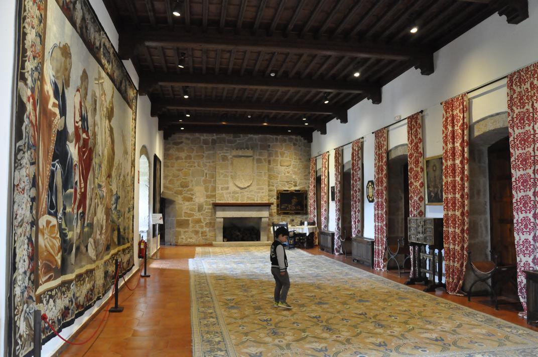 Sala del Infantado del Castell de Manzanares El Real de Madrid