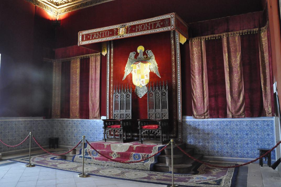 Sala del Tron de l'Alcàsser de Segòvia