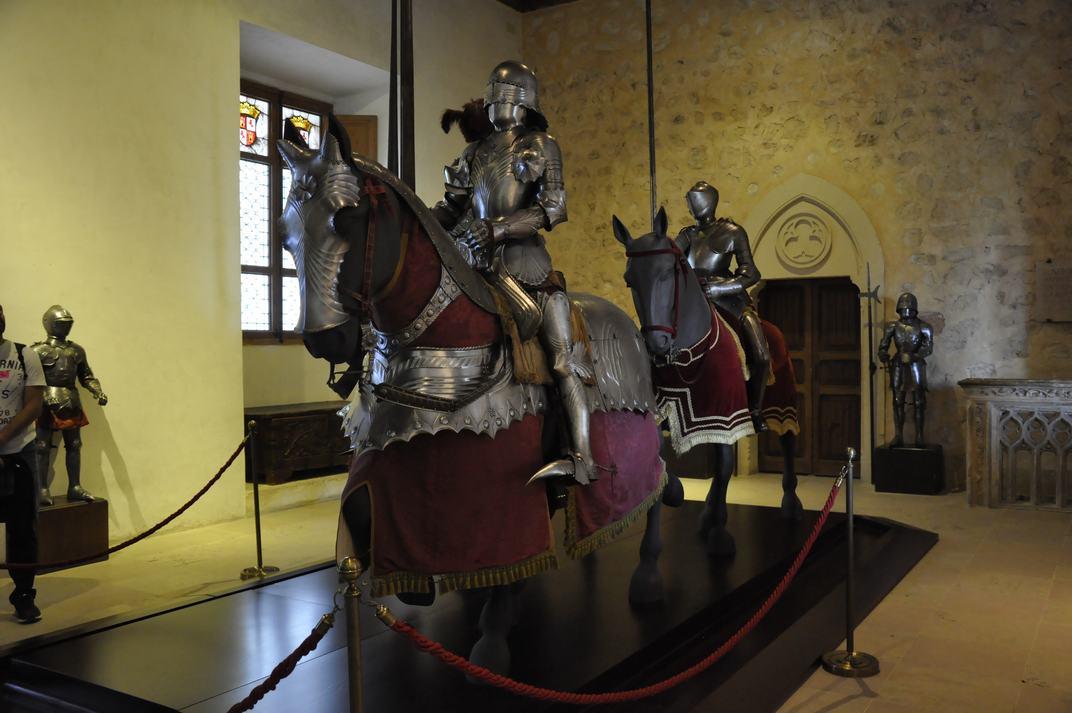 Sala dels Cavalls de l'Alcàsser de Segòvia