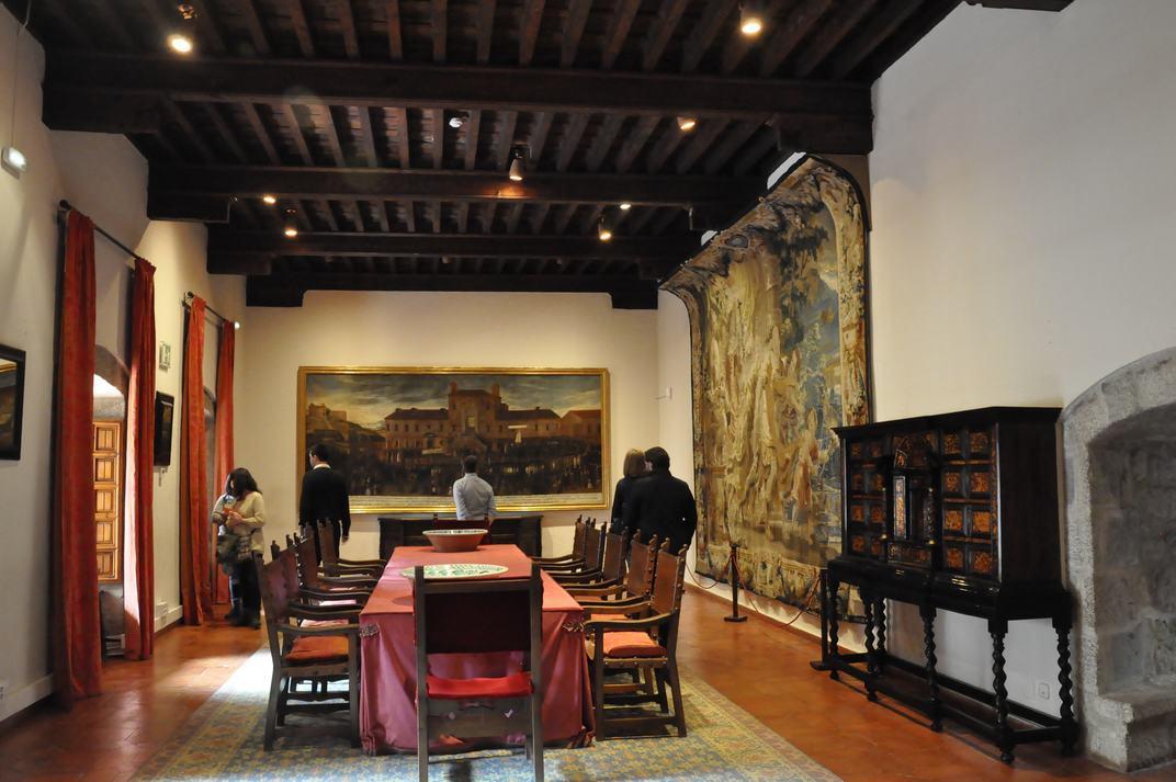 Sala Santillana del Castell de Manzanares El Real de Madrid