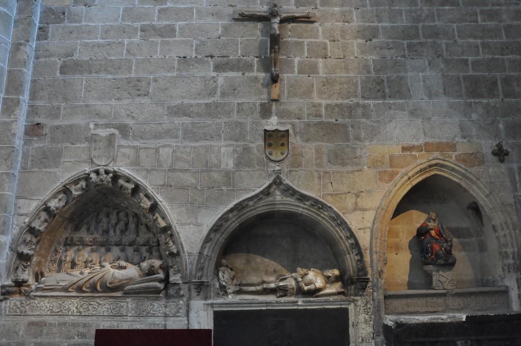 Sepulcre del bisbe Blázquez Dávila de la Catedral d'Àvila