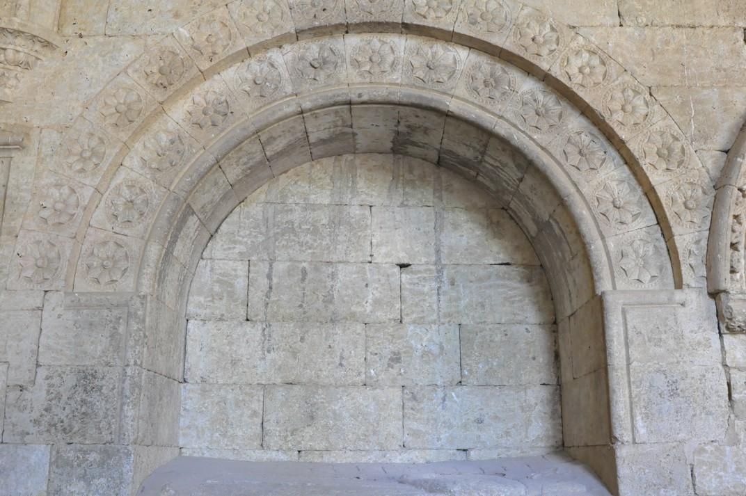 Sepulcre del Claustre de la Catedral de Ciudad Rodrigo de Salamanca