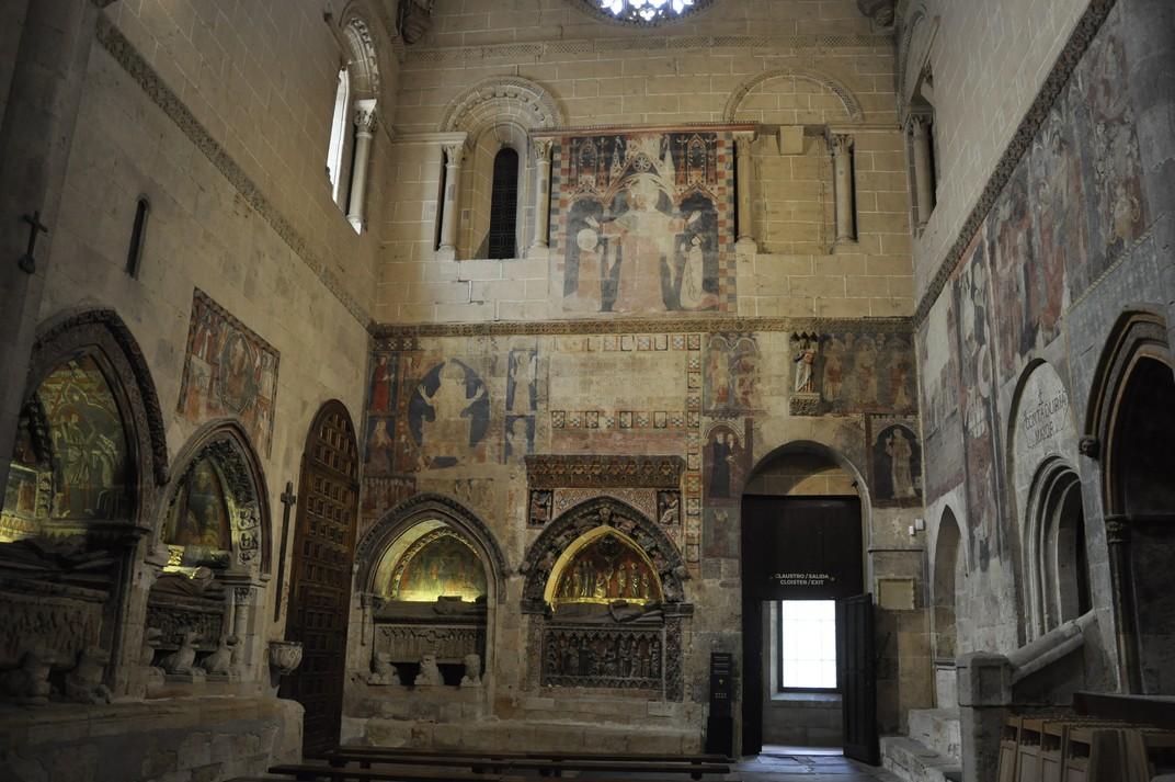 Sepulcres del Creuer de l'Epístola de la Catedral Vella de Salamanca