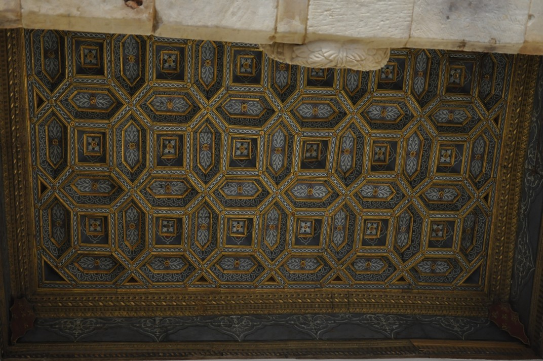Sostre enteixinat de la Casa de les Petxines de la Ciutat de Salamanca