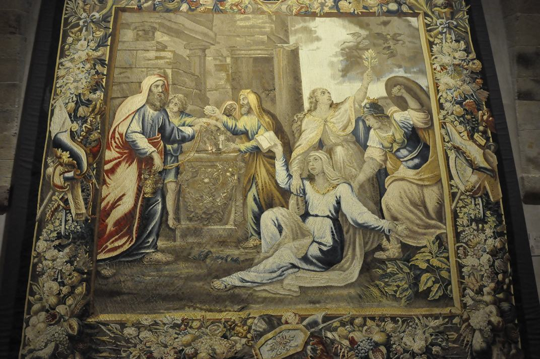 Tapís de la Catedral de Sigüenza de Castella - La Manxa