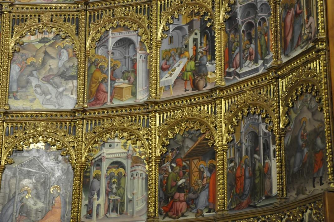 Taules pintades del Retaule Major de la Catedral Vella de Salamanca