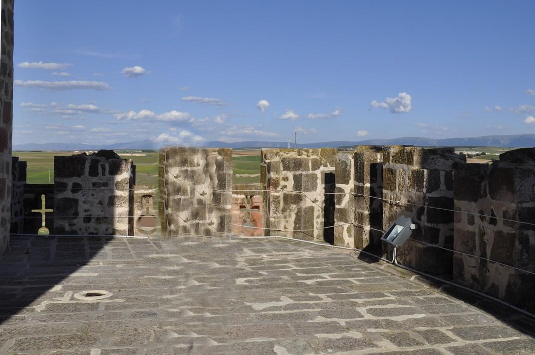 Terrassa del Castell dels Bisbes de Turégano de Segòvia