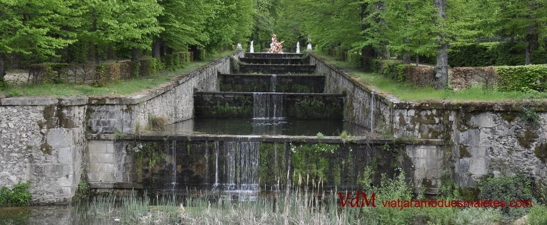 Terrasses del Palau de la Granja de Segòvia