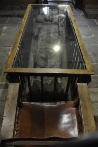 Tomba del bisbe Lucero de la Capella de Santa Bàrbara de la Catedral Vella de Salamanca