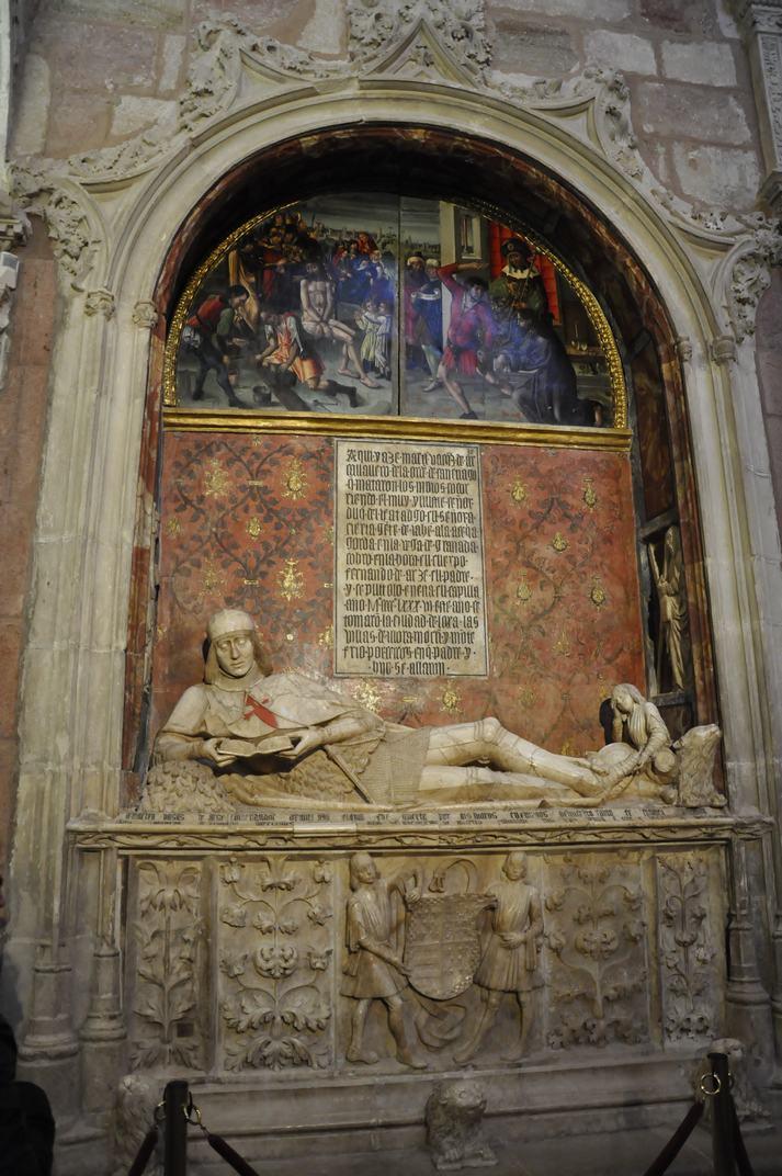 Tomba del Doncel de la Catedral de Sigüenza de Castella - La Manxa