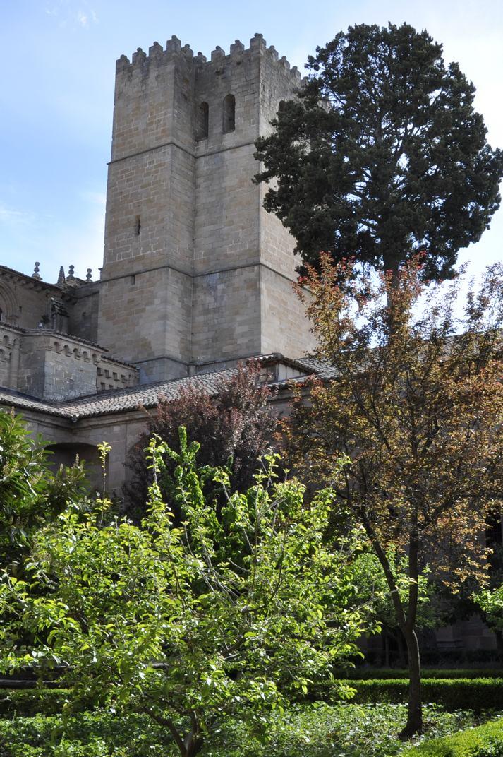 Torre campanar de la Catedral de Sigüenza de Castella - La Manxa