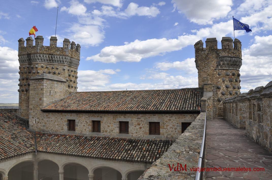 Torre de l'Homenatge del Castell de Manzanares El Real de Madrid