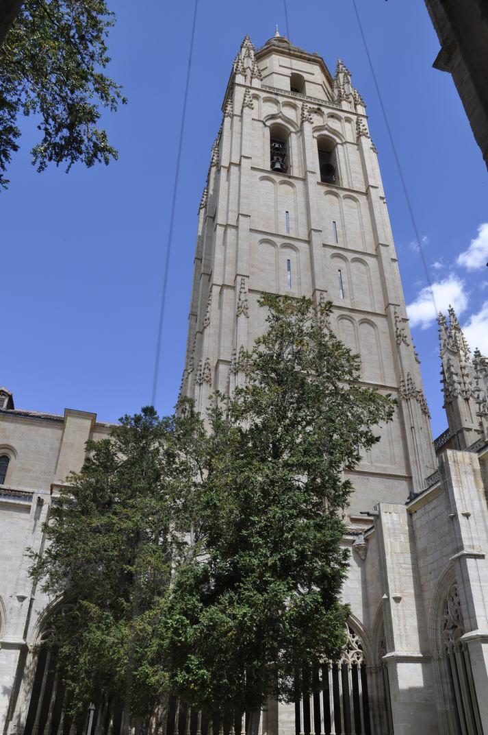 Torre del campanar de la Catedral de Segòvia