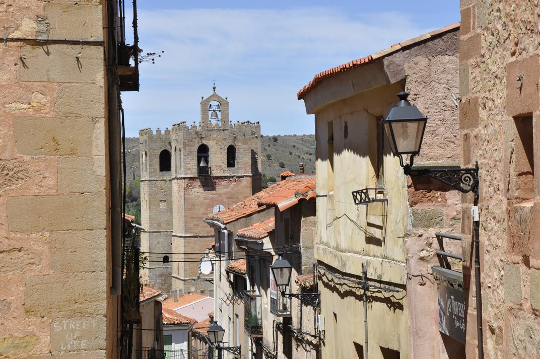 Torres campanars de la Catedral de Sigüenza de Castella-La Manxa