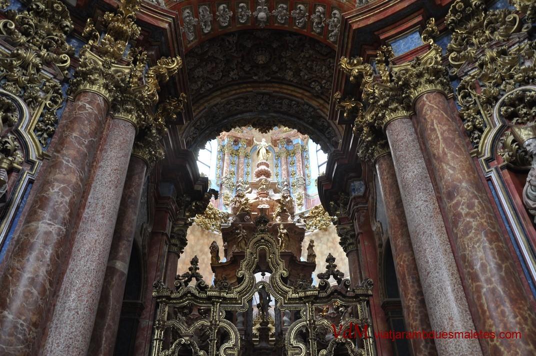 Transparent del Monestir de Santa Maria d'El Paular de Madrid