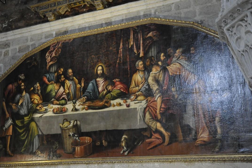Últim sopar del Monestir de Santa Maria d'El Paular de Madrid