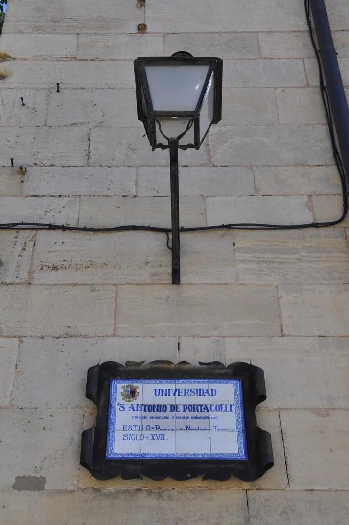 Universitat S. Antonio de Porta Coeli de Sigüenza de Castella - La Manxa
