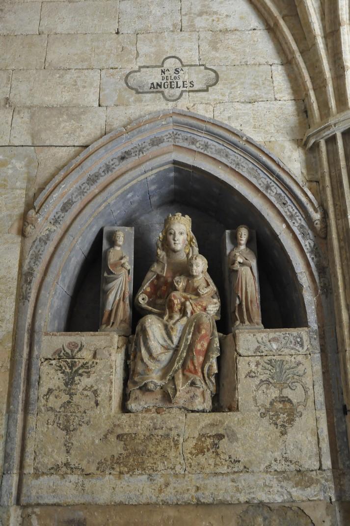 Verge amb el Nen del Claustre de la Catedral de Ciudad Rodrigo de Salamanca