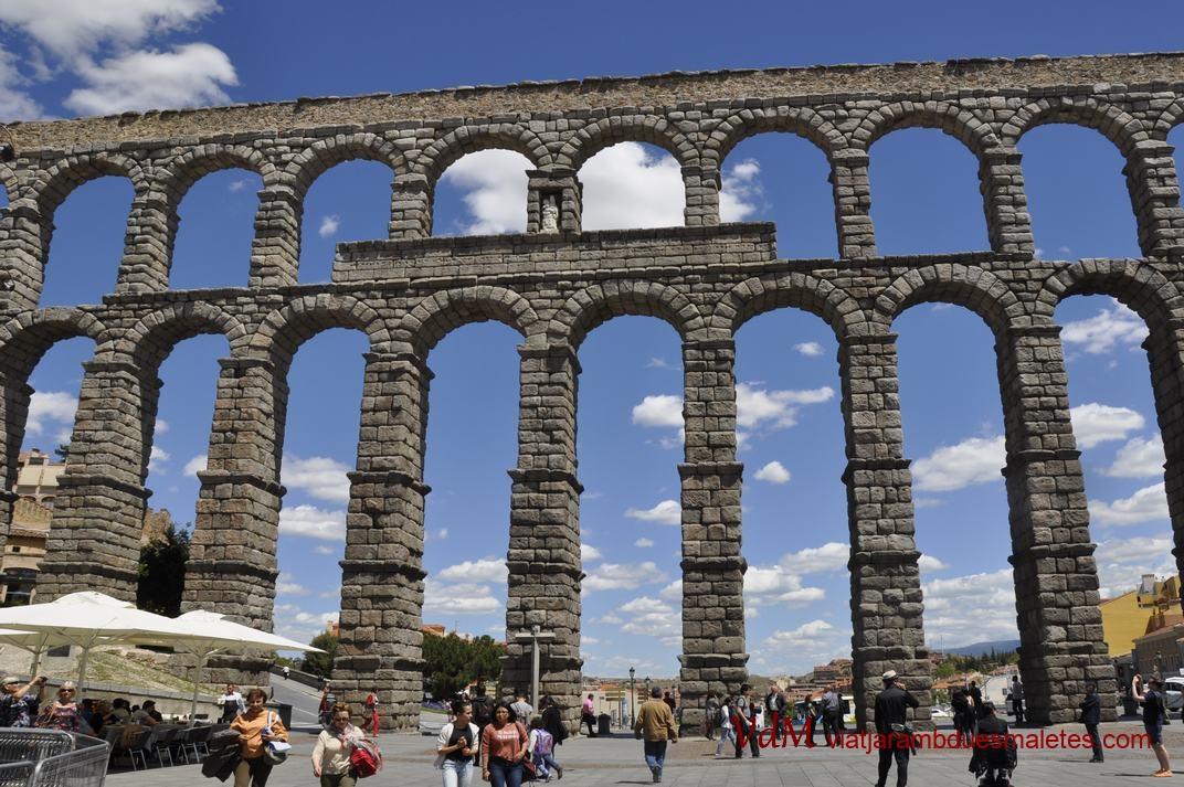 Verge de la Fuencisla de l'Aqüeducte de Segòvia