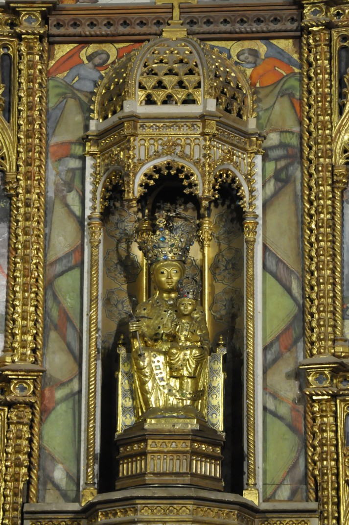 Verge de la Vega de la Catedral Vella de Salamanca