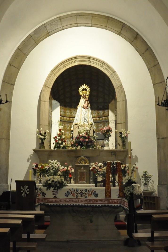 Verge Negre del Santuari de la Peña de Francia de Salamanca