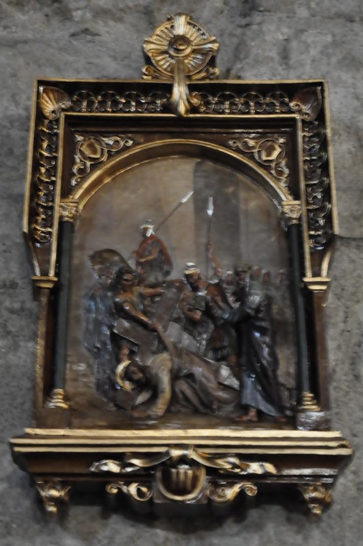 Viacrucis de l'església parroquial de La Alberca de Salamanca