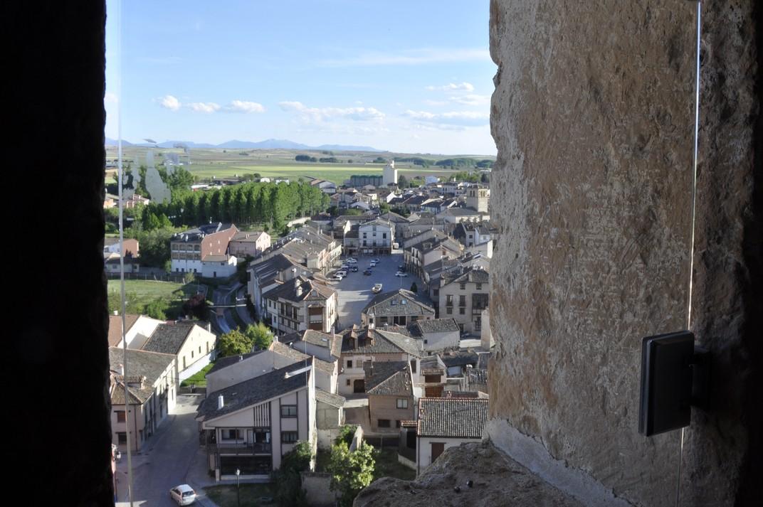 Vista de Turégano des del Castell dels Bisbes - Segòvia