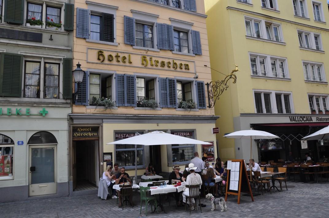 Barri de la Niederdorfstrasse de Zuric