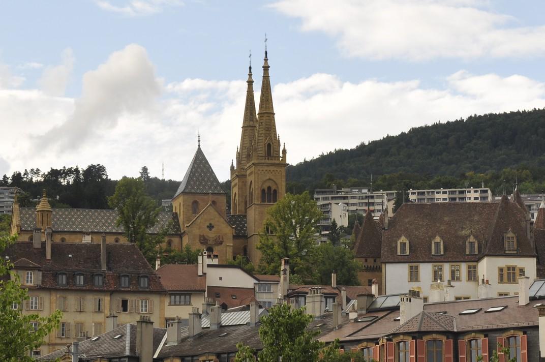 Castell i col·legiata de Neuchâtel