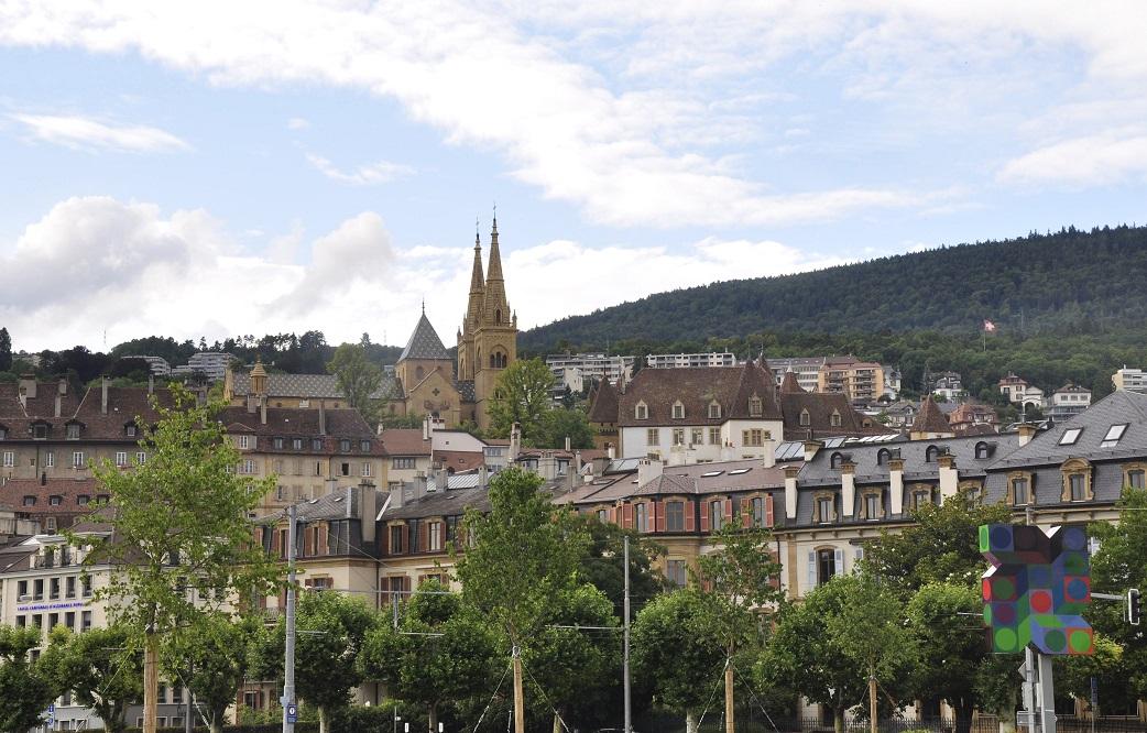 Col·legiata i castell de Neuchâtel