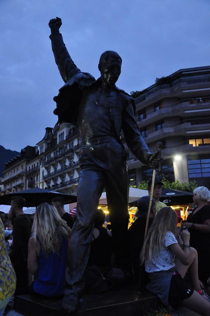 Estàtua de Freddie Mercury de Montreux