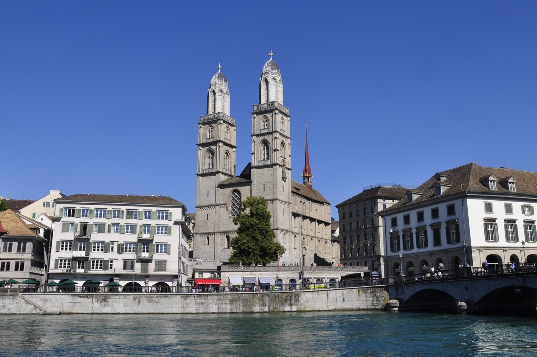 La Catedral Grossmünster de Zuric