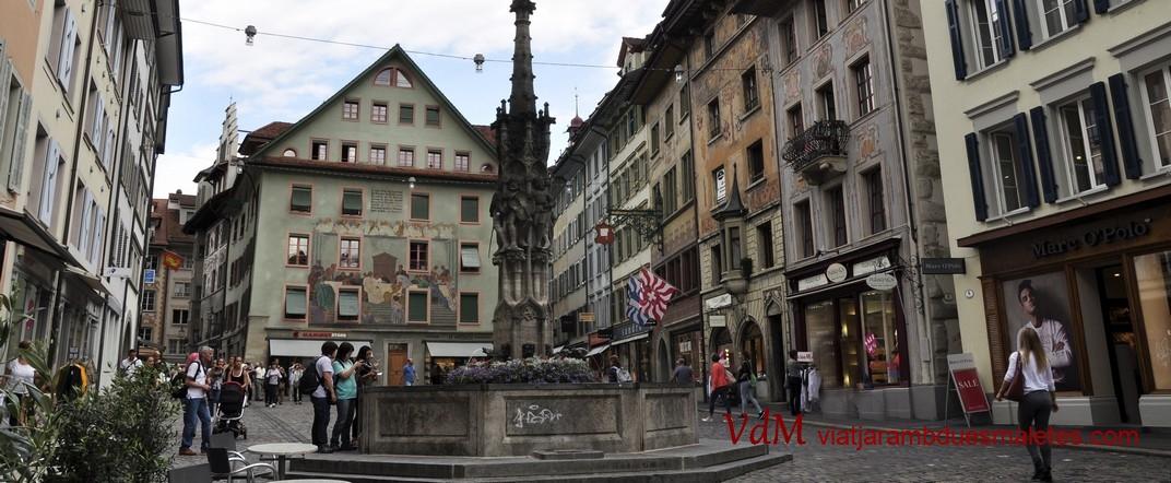 Plaça del mercat dels vins de Lucerna