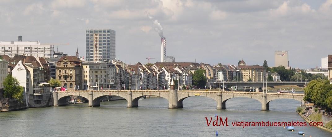 Pont del mig del Rin de Basilea